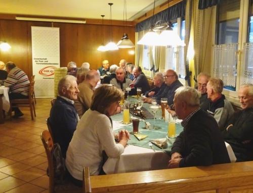 Weihnachtstreffen der Braunauer GPF-PensionistInnen in Uttendorf