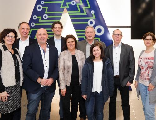 AK Präsidentin Renate Anderl zu Besuch im A1 Telekom Austria Technologiezentrum Arsenal