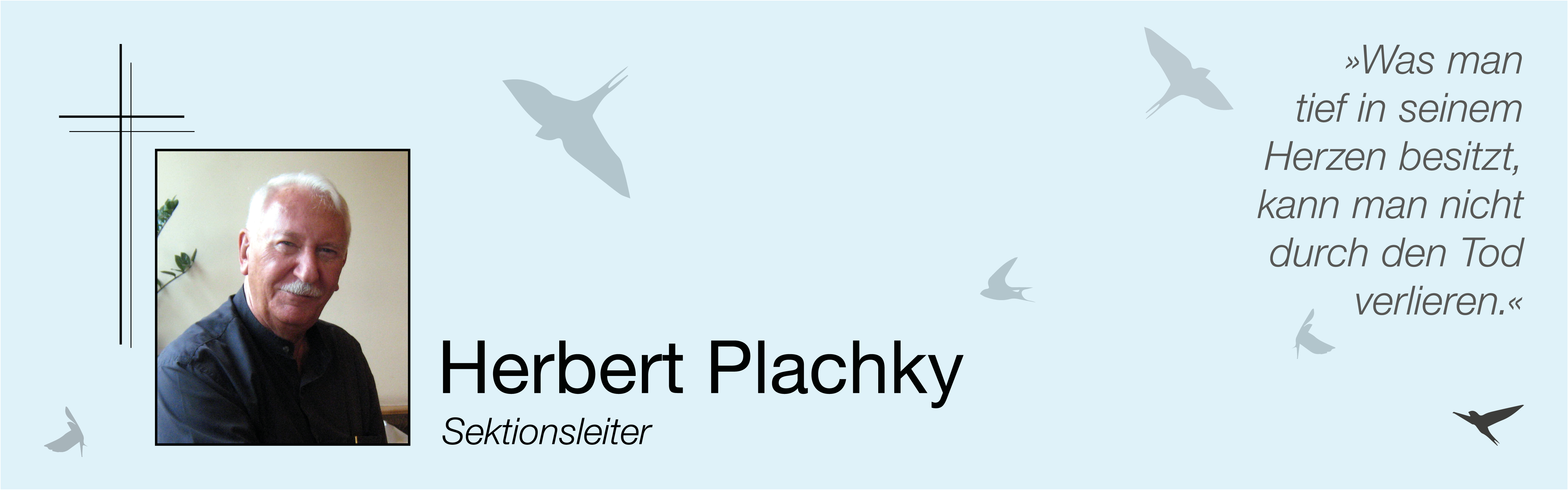 Nachruf Herbert Plachky