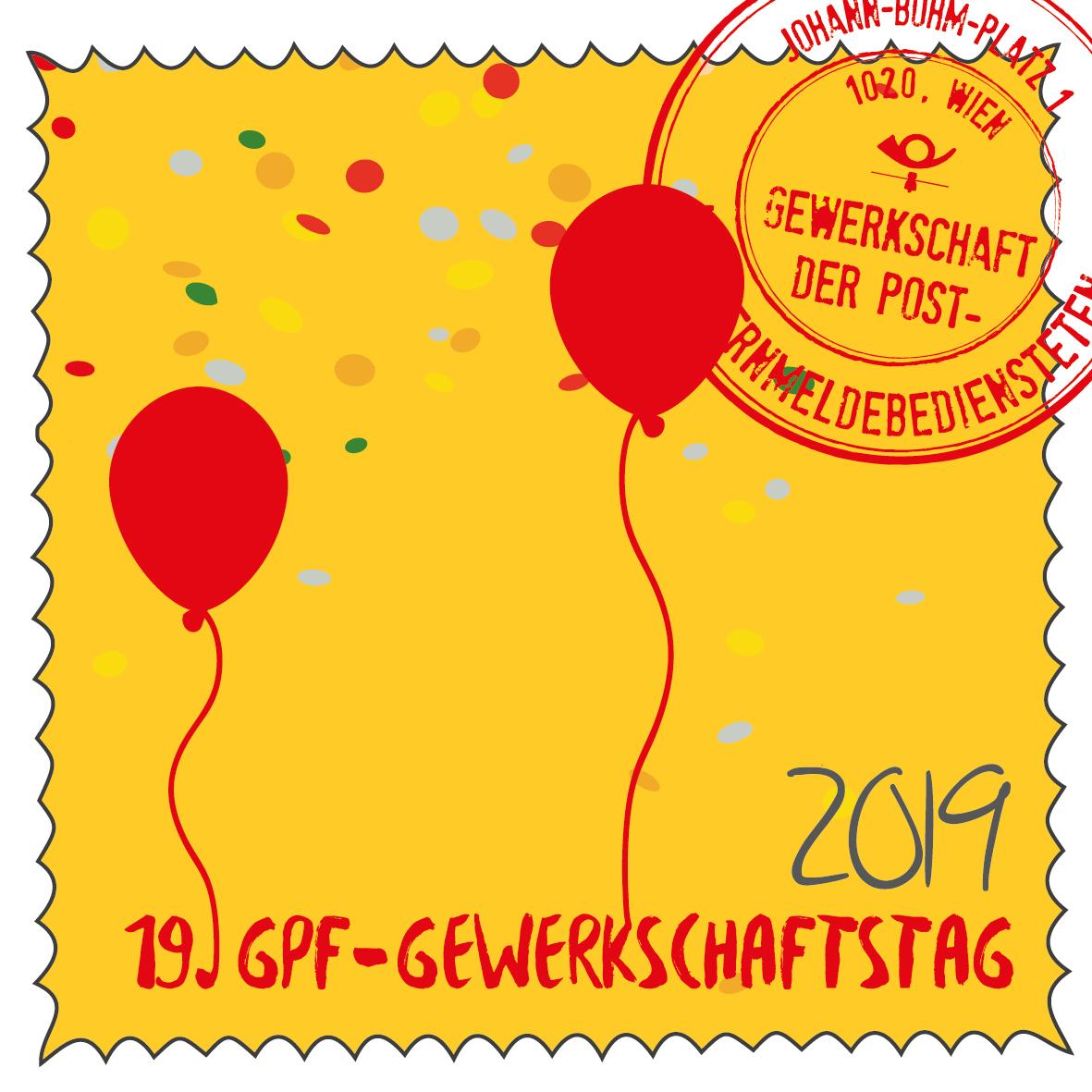 Gewerkschaftstag Briefmarke