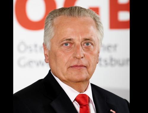 ÖGB und GPF trauern um Rudi Hundstorfer