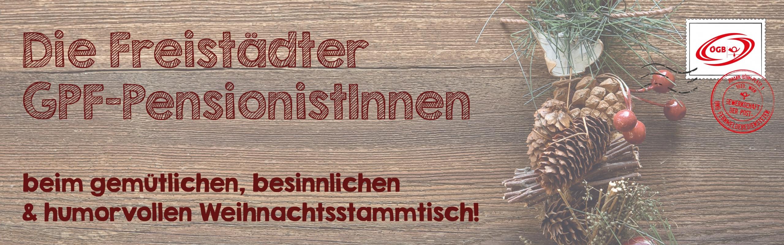 Weihnachtsstammtisch Freistadt 2019_Banner