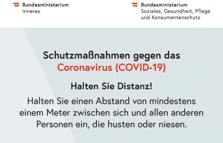 Schutzmaßnahmen gegen das Coronavirus - Distanz_pdfUA