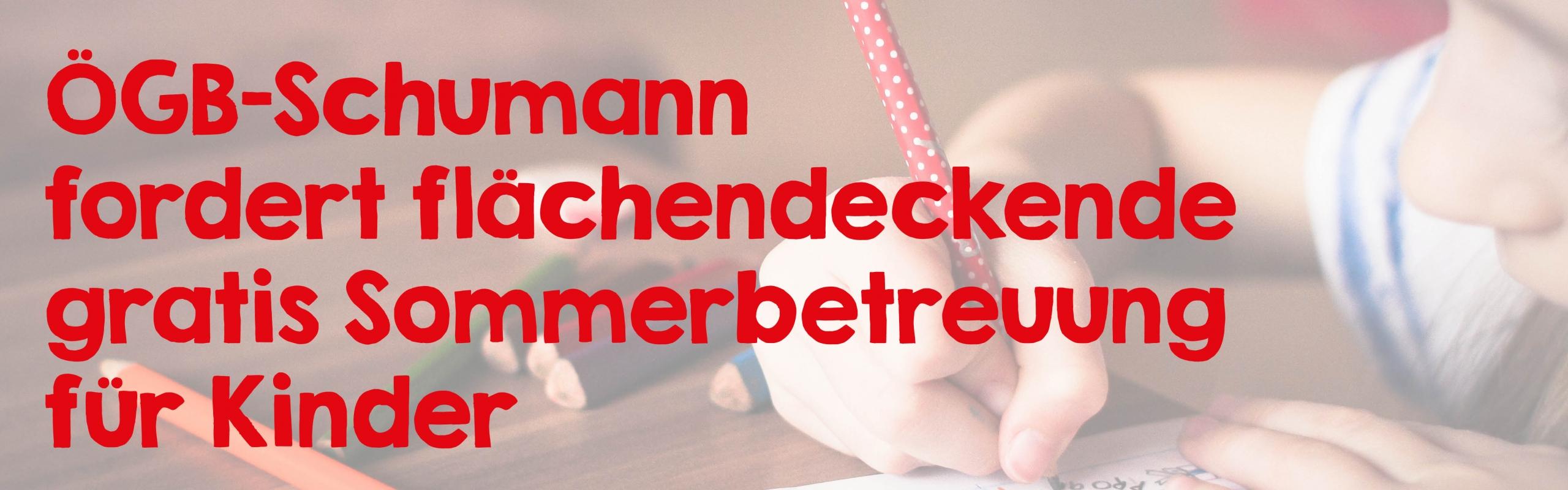 Korinna Schumann_Kinderbetreuung_Banner
