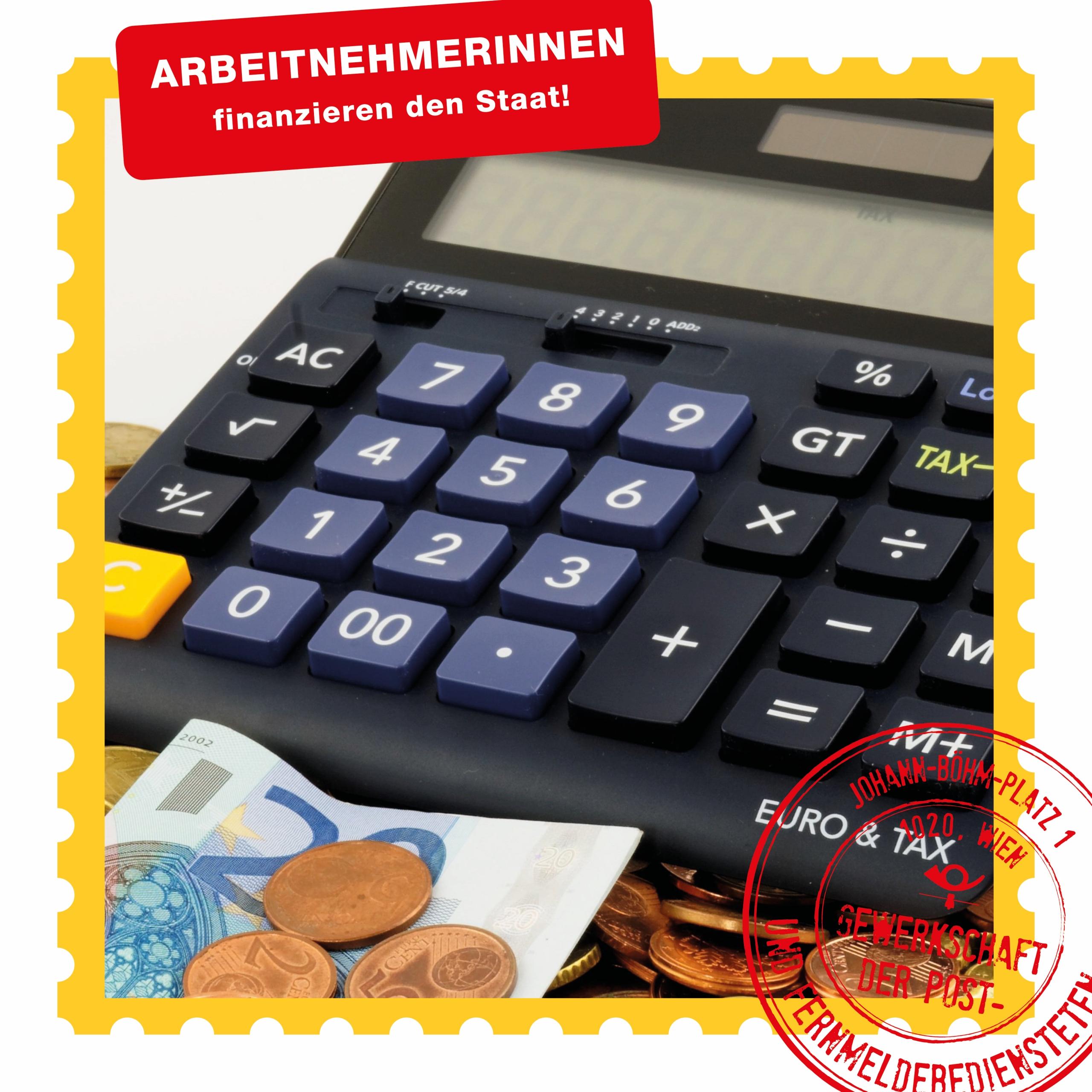 ArbeitnehmerInnen finanzieren den Staat _Beitragsbild