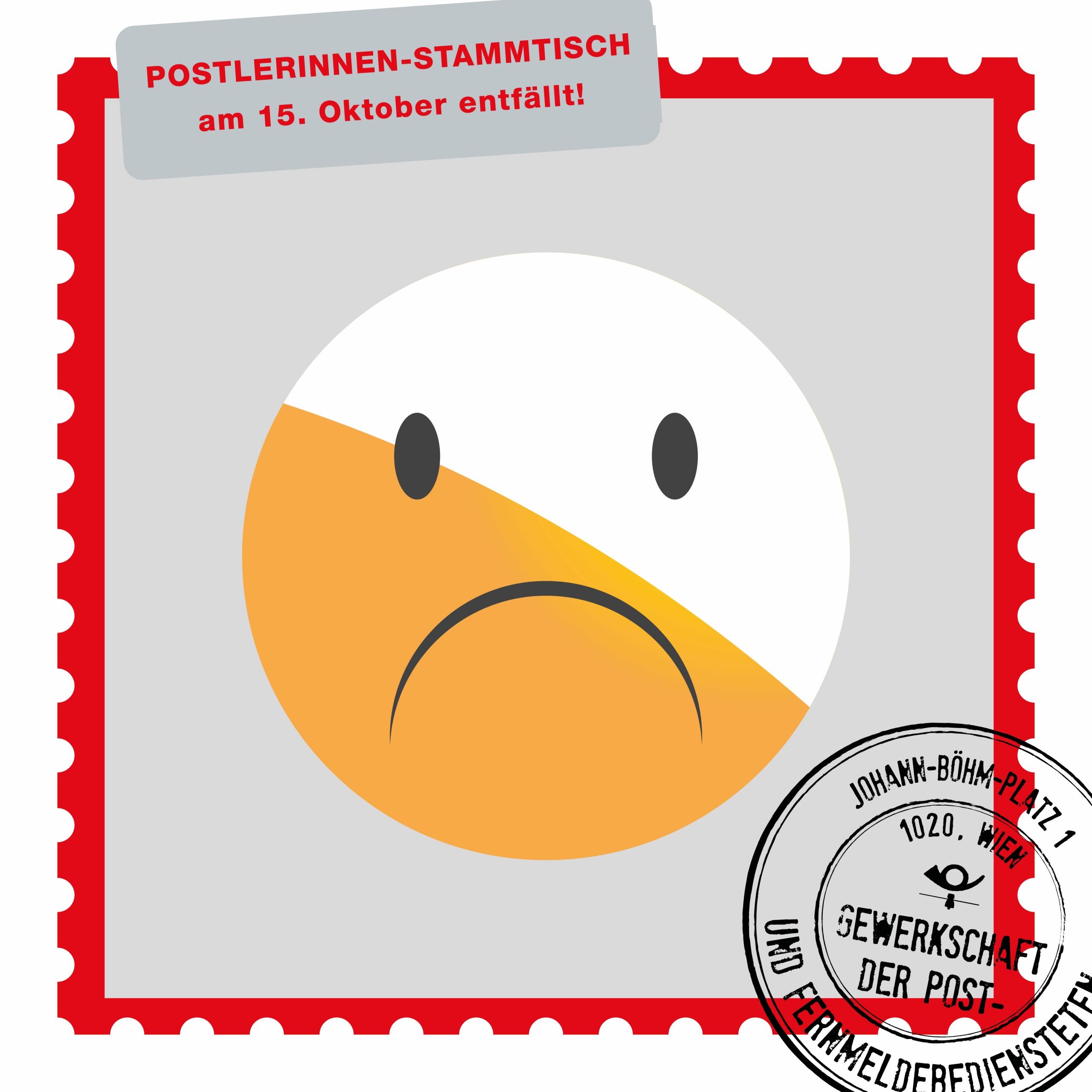 PostlerInnenstammtisch entfällt_Beitragsbild
