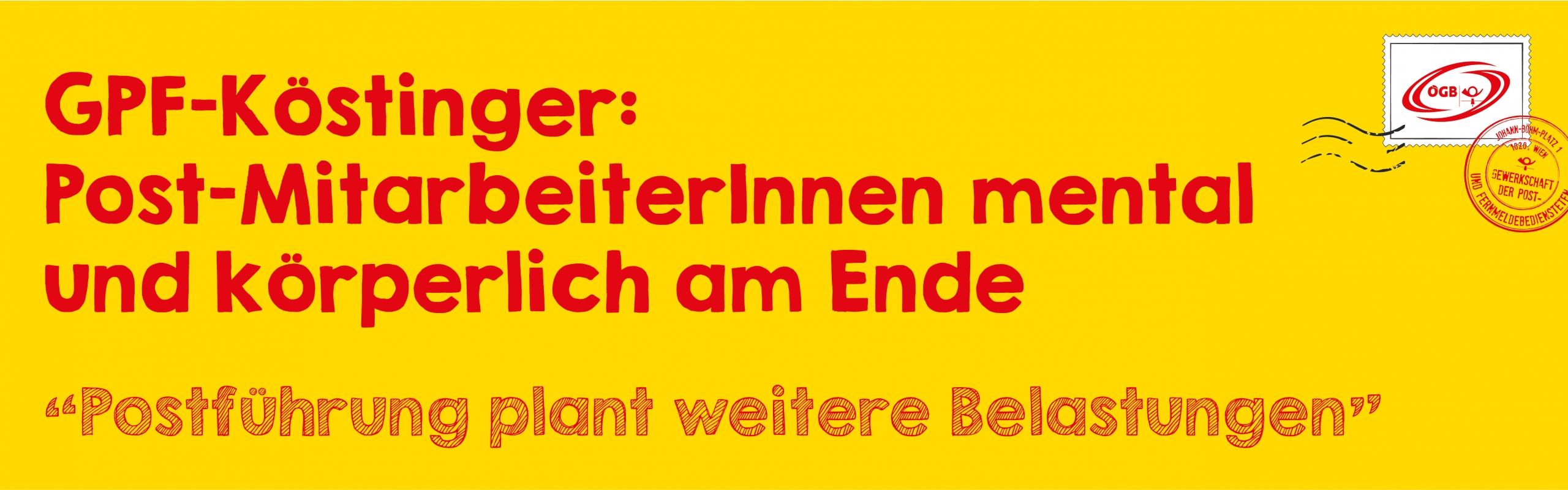 OTS Köstinger_Post-MitarbeiterInnen am Ende_Banner