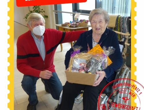 Alles Gute zum 100. Geburtstag, Mathilde Haase!