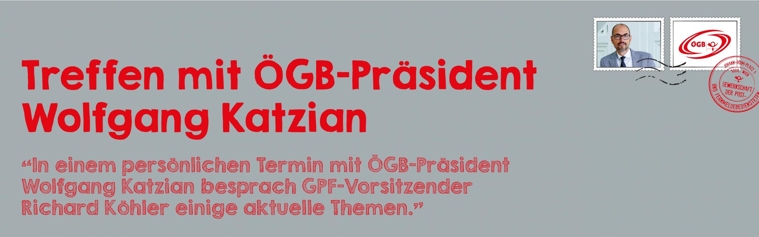 Treffen mit Wolfgang Katzian_Banner