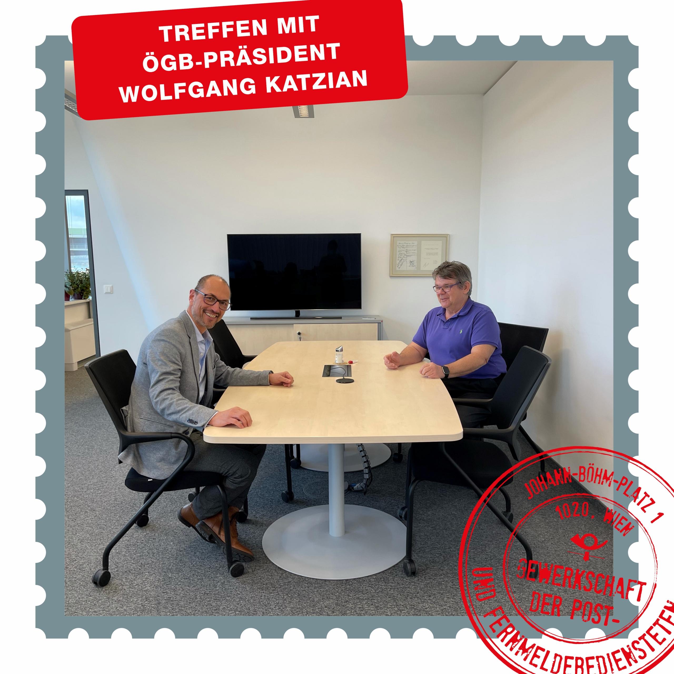 Treffen mit Wolfgang Katzian_Beitragsbild