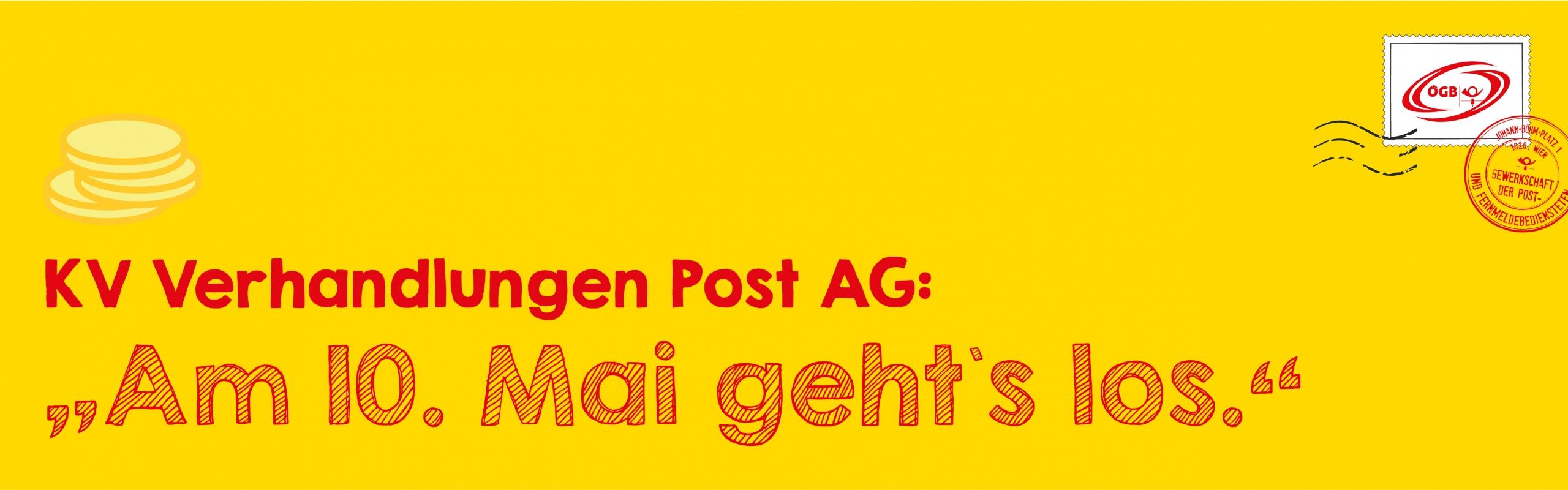 KV Verhandlungen Post AG_Banner