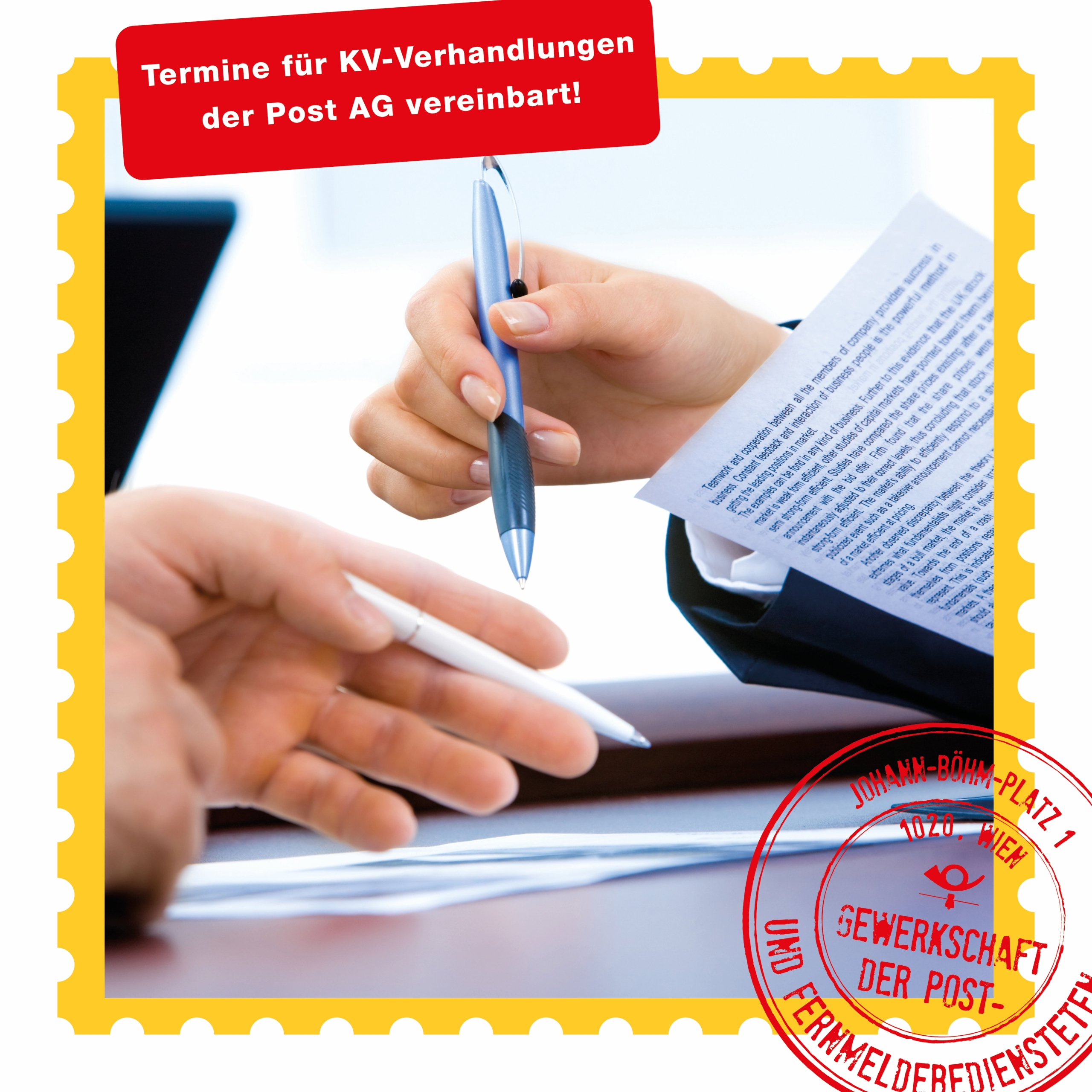 KV Verhandlungen Post AG_Beitragsbild